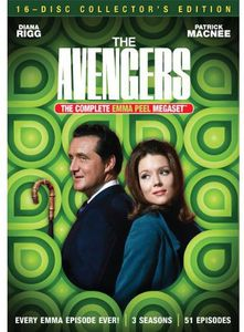 The Avengers: The Complete Emma Peel Megaset , Diana Rigg