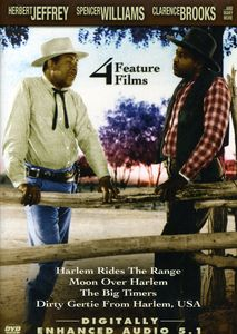 4 Feature Films: Harlem Rides the Range /  Moon Over Harlem /  The BigTimers /  Dirty Gertie From Harlem, USA