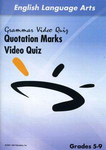 Quotation Marks Video Quiz