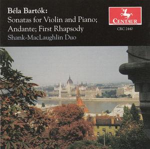 Sonatas for Violin & Piano: Andante, First Rhapsody