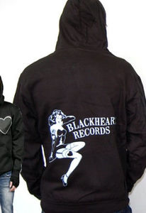 Blackheart Pin-Up Hoodie