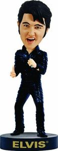 Elvis Bobblehead - Leather