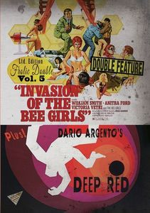 Invasion Of The Bee Girls/ Deep Red