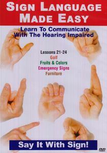 Sign Language Series 21-24