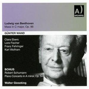 Mass in C Major /  Piano Concerto in a Major