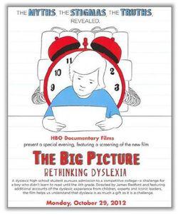 The Big Picture: Rethinking Dyslexia