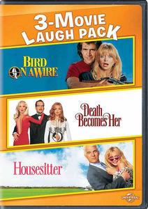 Goldie Hawn 3-Movie Laugh Pack: Bird on a Wire /  Death Becomes Her /  Housesitter , Goldie Hawn