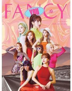 7th Mini Album: Fancy You (Random Cover) (Incl. Photobook, FancyLenticular Card, 5 Photocards + 1 Sticker) [Import] , Twice