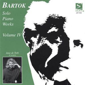 Bartok Solo Piano Works 4
