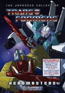Transformers Japanese Collection: Headmasters