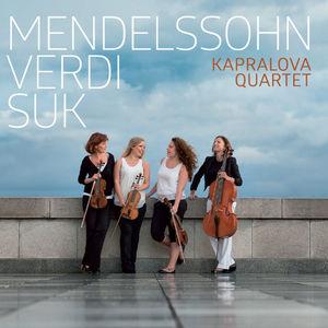 Mendelssohn, Verdi & Suk: String Quartets