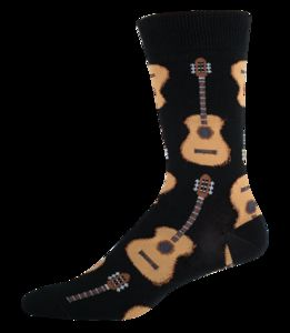 Guitar Crew Socks - Black
