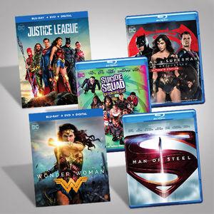 DC Films Blu-Ray Bundle