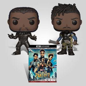 Black Panther Funko Ultra Hd Bundle