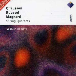 Chausson: STR QRT /  Roussel: STR QRT