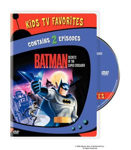Batman: Animated Series - Secrets Caped Crusader 1