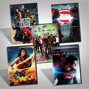 DC Films Dvd Bundle