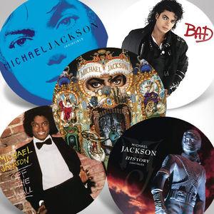 Michael Jackson Picture Vinyl Bundle , Michael Jackson