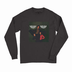 Jimi Hendrix Are You Experienced UK Album Cover Art Black Long SleeveT-Shirt (Large)