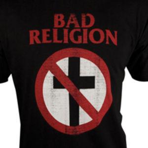 Distressed Crossbuster Slim Fit T-Shirt Black - S