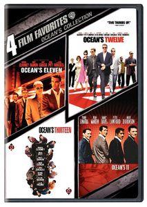 4 Film Favorites: Ocean's Collection