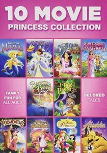 10 Movie Princess Collection