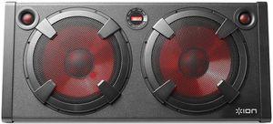 ION IPA27 Road Warior 500W Bluetooth Speaker System FM RadioRechargeable Black
