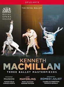 Three Ballet Masterpieces