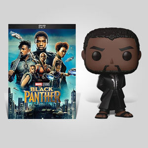 Black Panther Black Robe Dvd Bundle