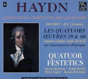 Collection Complete Des Quatuors 6