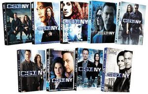 CSI NY: The Complete Series Pack