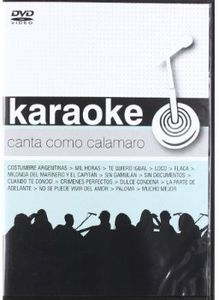 Karaokes Canta Como Calamaro [Import]