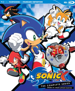 Sonic X: Complete English Dubbed Series Sdbd