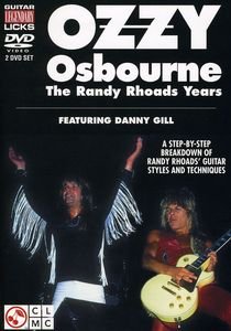 Ozzy Osbourne the Randy Rhoads Years
