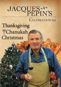 Jacques Pepin's Fall /  Winter Celebrations Set