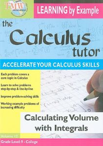 Calculating Volume With Integrals