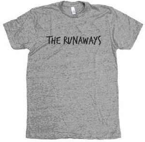 The Runaways Handwritten Track Tee