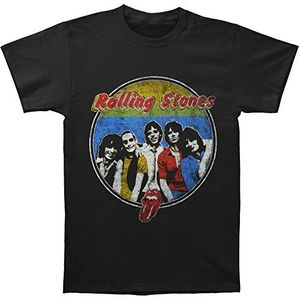 The Rolling Stones 78 Band Respectable Bootleg (Mens /  Unisex Adult T-shirt) Black, SS [Small] Front Print Only