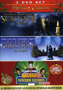 Holiday Classics: Scrooge /  Beyond Christmas /  Laurel and Hardy: March OfThe Wooden Soldiers