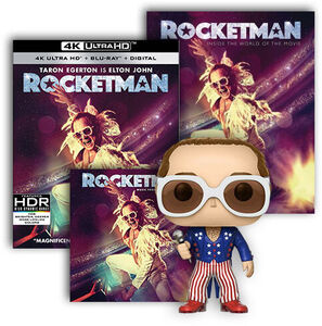Rocketman Ultimate Fan Pack UHD/ LP Bundle