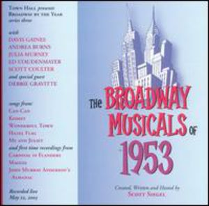 Broadway Musicals Of 1953