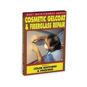 Cosmetic Gelcoat and Fiberglass Repair: Color Matching and Finishing