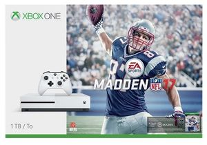 Microsoft Xbox One S 1TB Console: White - Madden NFL 17 Bundle
