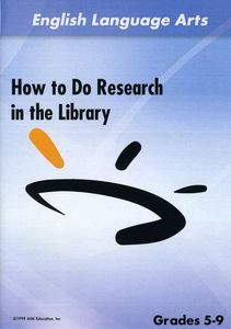 How to Do Research in the Library