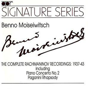 Complete Rachmaninov Recordings 1937-43