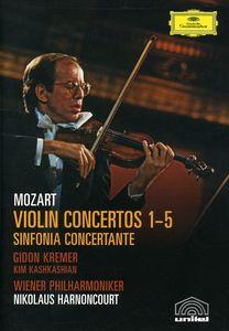 Violin Ctos 1-5 /  Sinfonia Concertante in E Flat