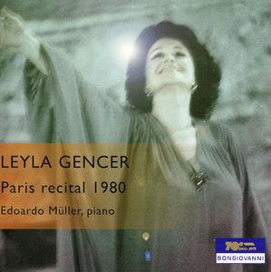Leyla Gencer in Live Recital 1980