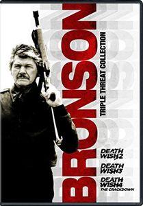 Bronson Triple Threat Collection: Death Wish 2 /  Death Wish 3 /  Death Wish 4: The Crackdown , Charles Bronson