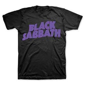 Black Sabbath Master Of Reality Logo (Mens /  Unisex Adult T-Shirt) Black, SS [Medium] Front Print Only