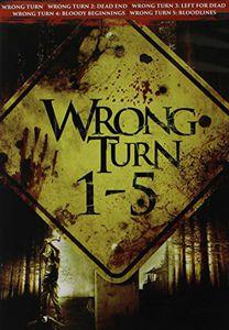 Wrong Turn 1-5